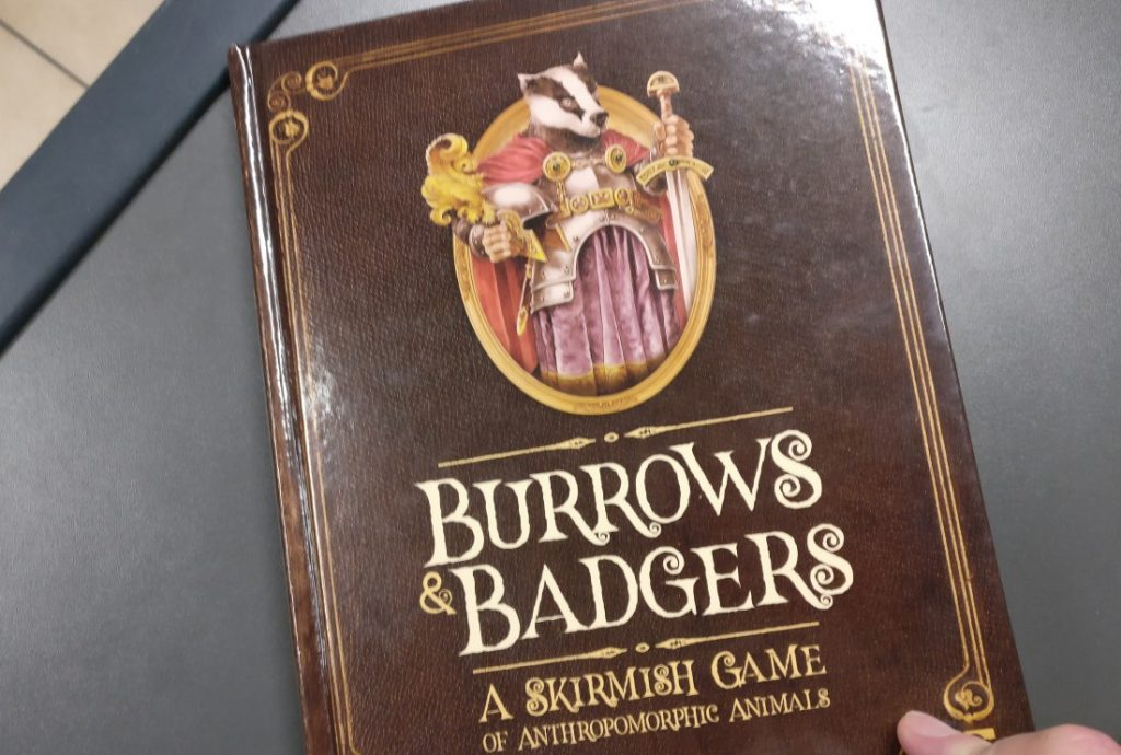 Burrows & Badgers - a Skirmish Game of anthropomorphic animals