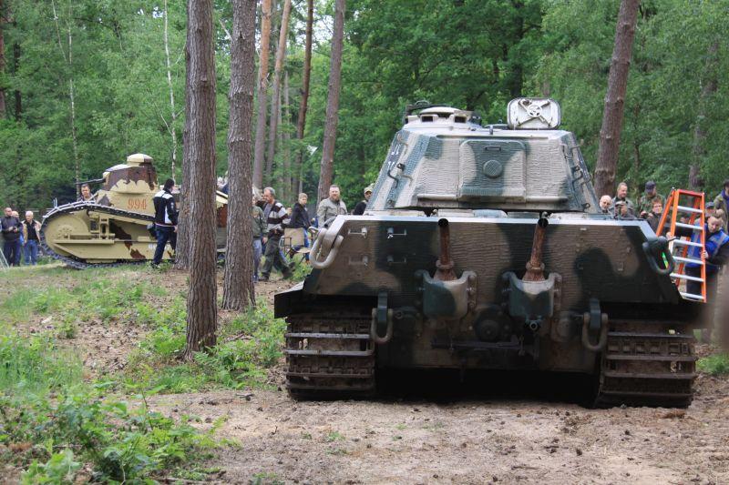 Königstiger aus Saumur auf der Militracks 2018