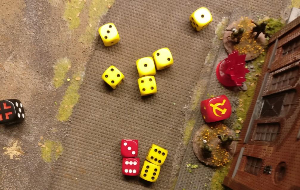 Das Lagerhaus kann zwei Treffer erfolgreich saven.