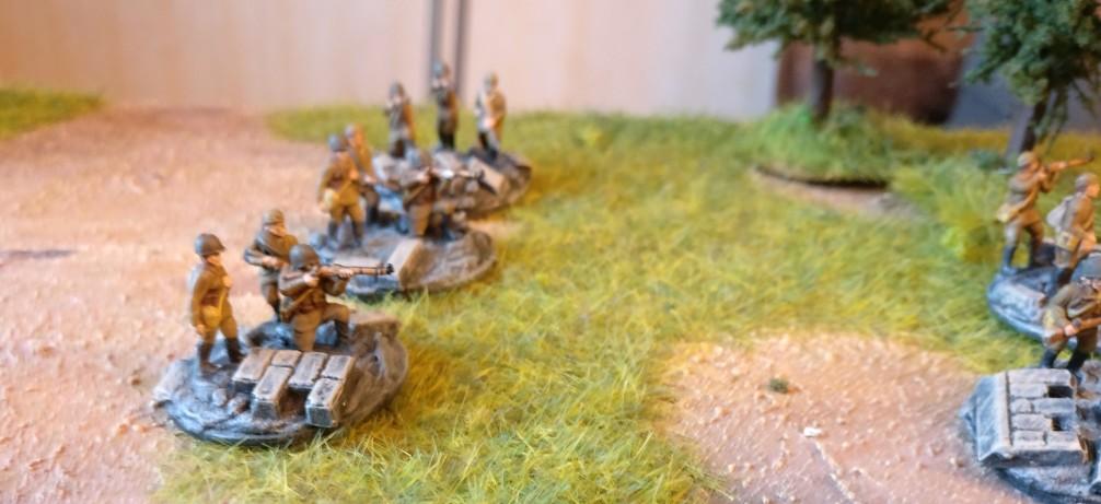 Drei der sieben Rifle Groups.