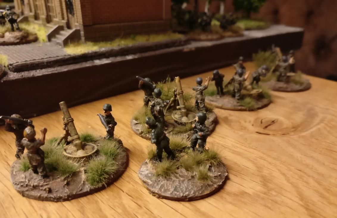 Weitere Reserven sind ein Mortar-Platoon...