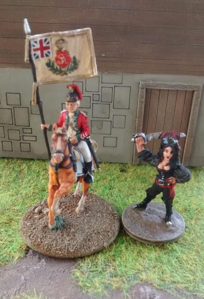 Hier hat den Doncolor das Italieri 6180 Siebenjähriger Krieg Nordamerika Set gepiekst.