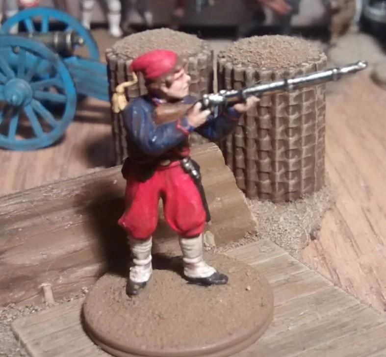 Kein Offizier aus dem Italieri 6180 Siebenjähriger Krieg Nordamerika Set.