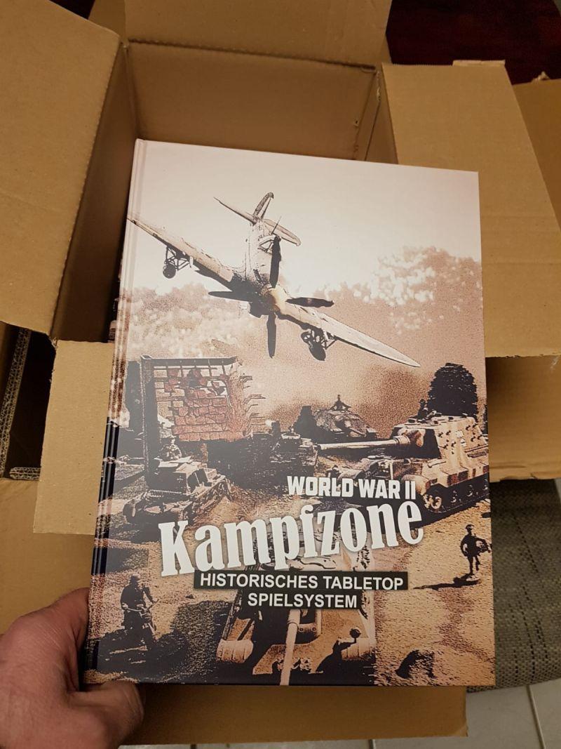 Das allererste Exemplar von WW2 Kampfzone von Udo Zipelius.