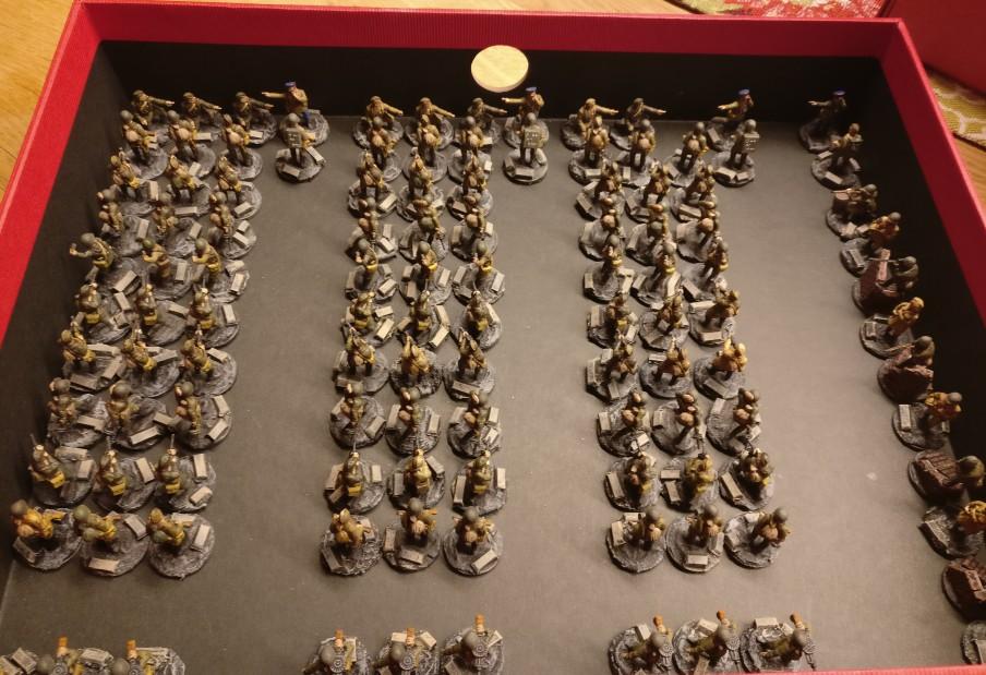 Das 271st Rifle Regiment ist wieder vollzählig in der heimischen Kaserne angetreten.