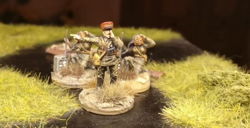 Finished: Der Führungskader des 44. Schützenregiments wurde aufgestockt.