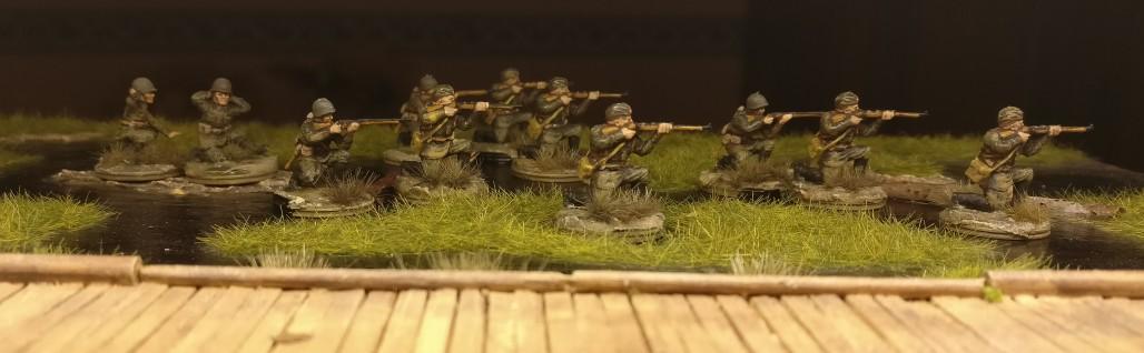 Weitere Schützen für das 44. Schützenregiment