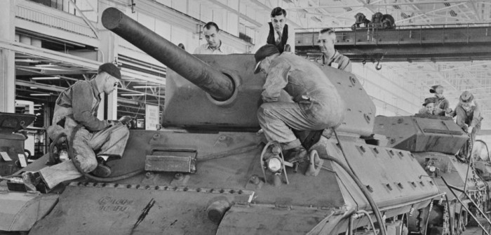 Gun Motor Carriage M10 Wolverine Tank Destroyer