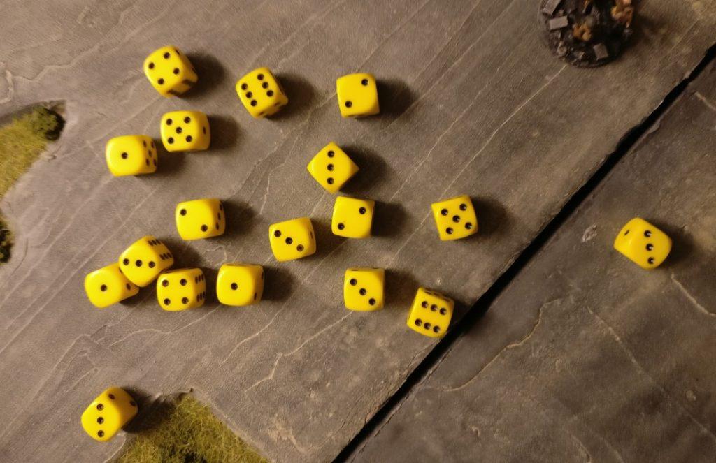 2 Treffer - aber für jede der Foot Groups im Ziel-Square.