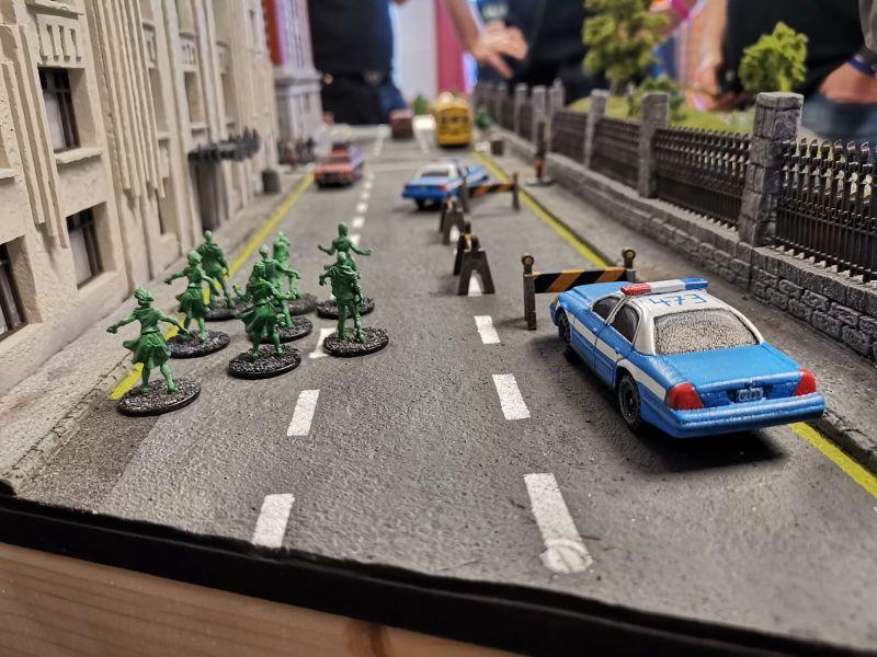 """""""The Ghostbusters"""": die Spielplatte des Asgard Aschaffenburg auf der Tactica Hamburg 2019."""