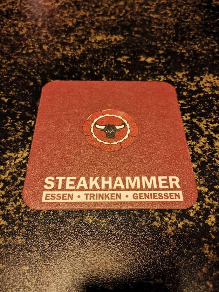 Wo diniert der geneigte Wargamer in Hamburg? Klaro: im Steakhammer!