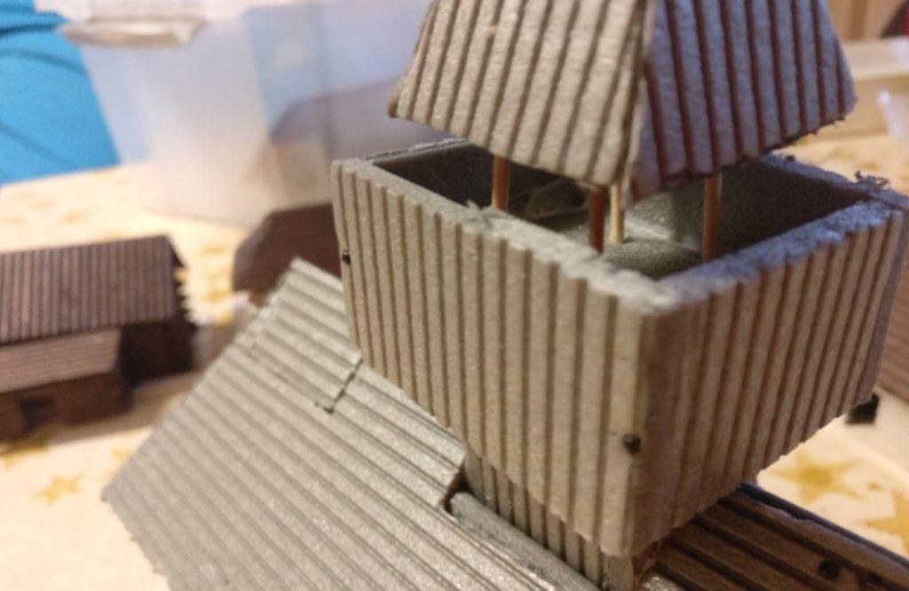 Der Wehrgang auf dem Wehrturm. Natürlich überdacht. XENAs Wehrkirche kann sich sehen lassen.