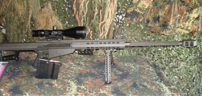 """Das Barrett M82A1 - hier als G82 der Bundeswehr. Ein """"Light Fifty"""" für unsere Scharfschützen."""