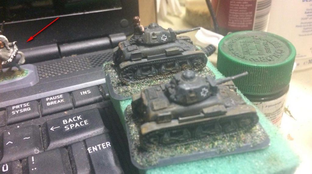 Kein Panzerjäger Pz 35t/R-2 TACAM, aber zwei Renault R-35.