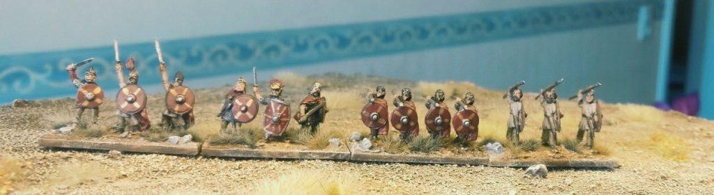 Hier die fertige Truppe nach dem Gärtnern.