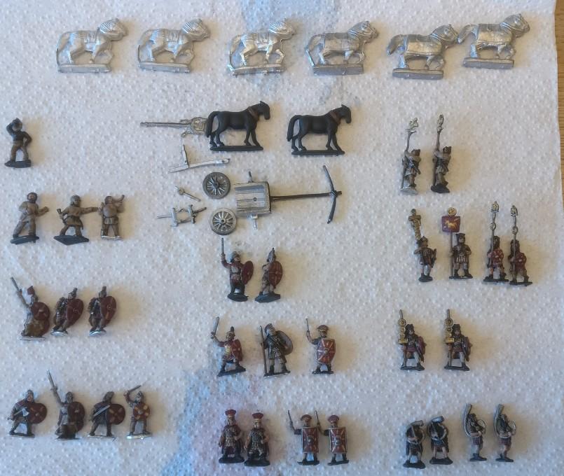 Tafel 03: Führungskader und das höfische Blasorchester