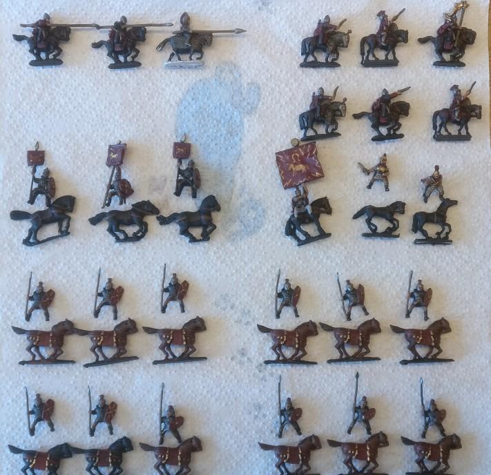 Tafel 04: Ein paar Schwadronen der DBMM-Legiones Commoti