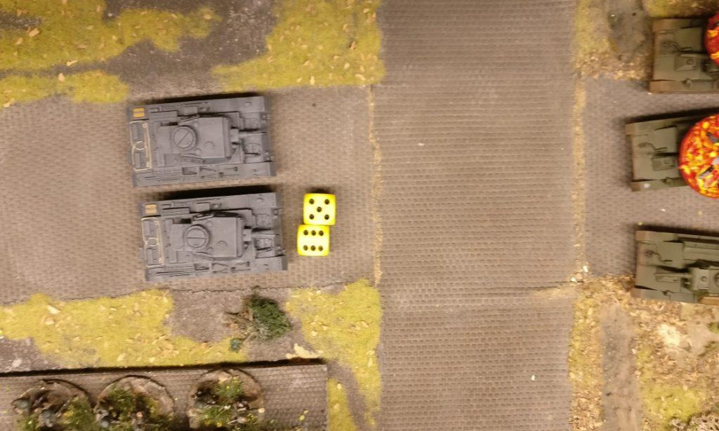 Der Panzer III kann 11 APs ausgeben.