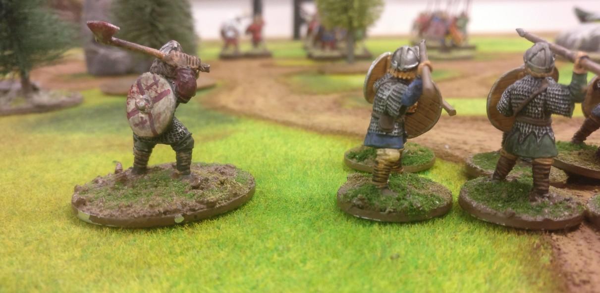 Kennzeichnend für Sturmis Truppe ist die Ausrüstung mit Fernkämpfern.