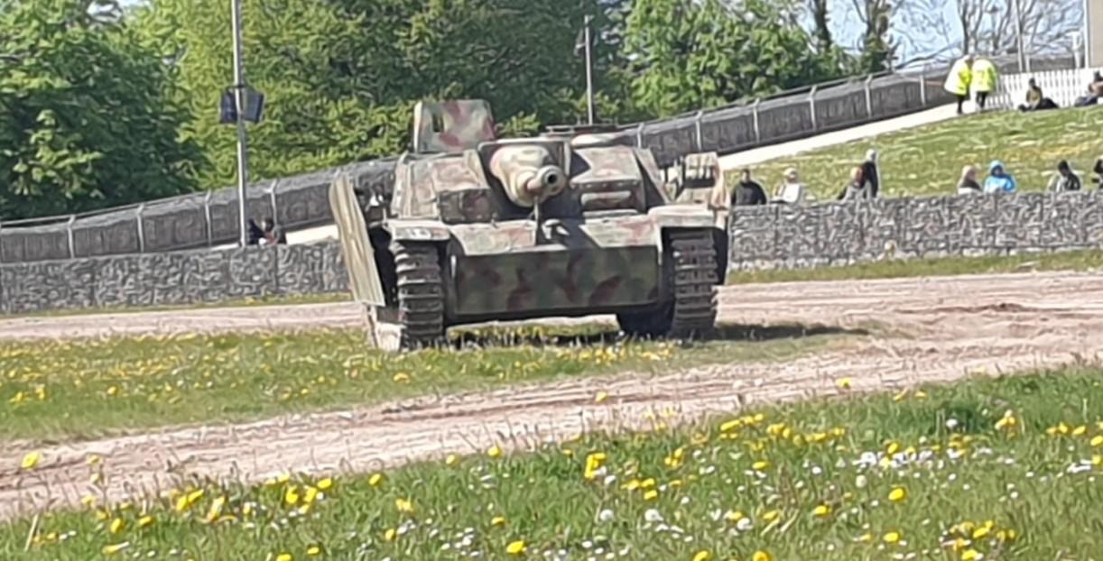 StuG III Ausf. G im The Tank Museum Bovington am Tankfest 2019.