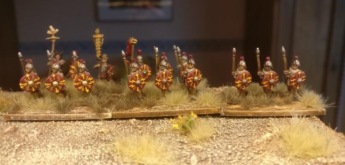 Blade Fast / Bd (F) für DBMM: Lanciarii für die Legiones Commoti