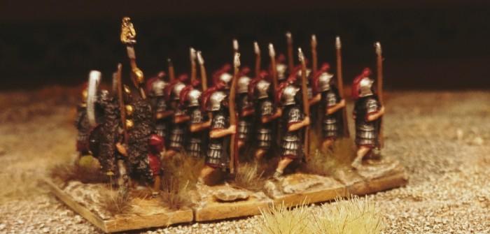 Blade Ordinary / Bd (O) für DBMM: römische Legionäre als Standard-Fleischwölfe