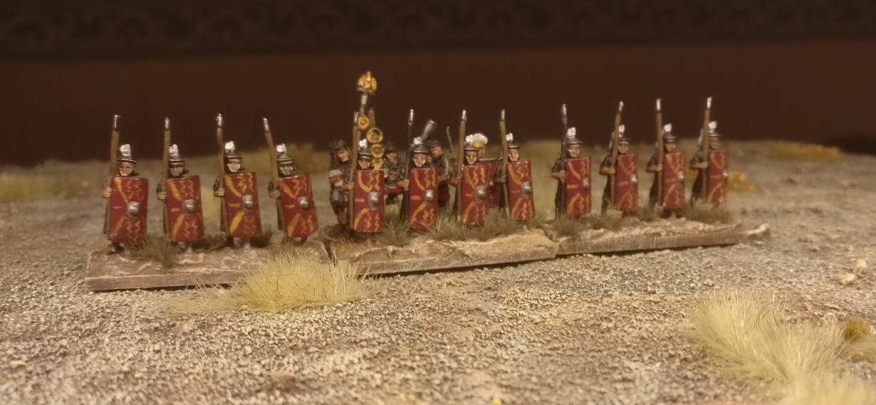 Erstes Manöver der Blade Superior / Bd (S) Prätorianer (DBMM) auf dem Truppenübungsplatz Mogontiacum-Süd.