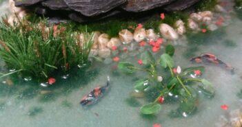 """Bushido-Spielplatte der Ad Arma: """"japanischer Garten"""" für den Skirmisher"""