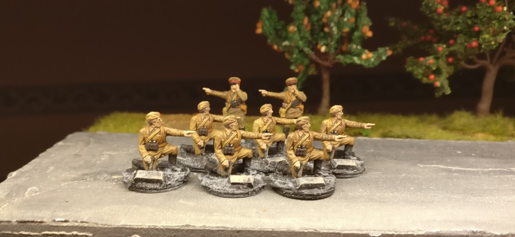 Diese Herren wurden im preussischen Teil Unikorniens rekrutiert.