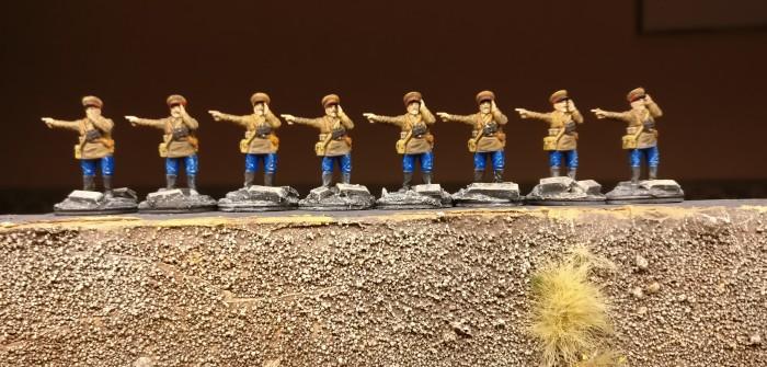 Freiwillige für das Offizierskorps