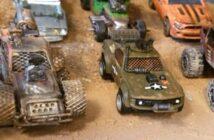 Gaslands: Cars! Unser Max auf dem postapokalptischen Anarcho-Trip. Nachahmung empfohlen!