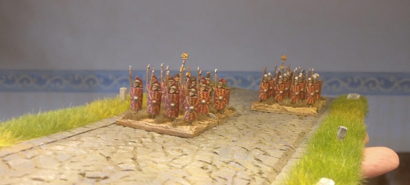 Erste Legionäre werden auf der Via Commotus gesichtet. Die Roman Roads wurden von der Truppe angenommen!