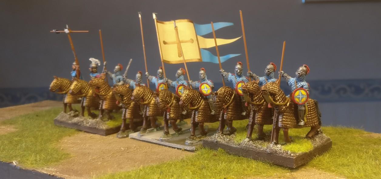 Heissa! 28mm Byzantiner Cavalry für DBA, DBMM, ARMATI