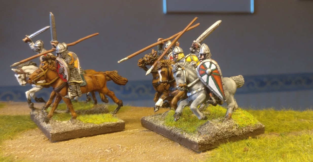 28mm Byzantiner Cavalry für DBA, DBMM, ARMATI