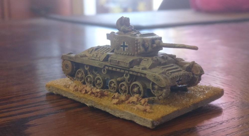 PzKw Mk. III 749(e): der deutsche Valentine in Nordafrika im Maßstab 1:100 / 15mm