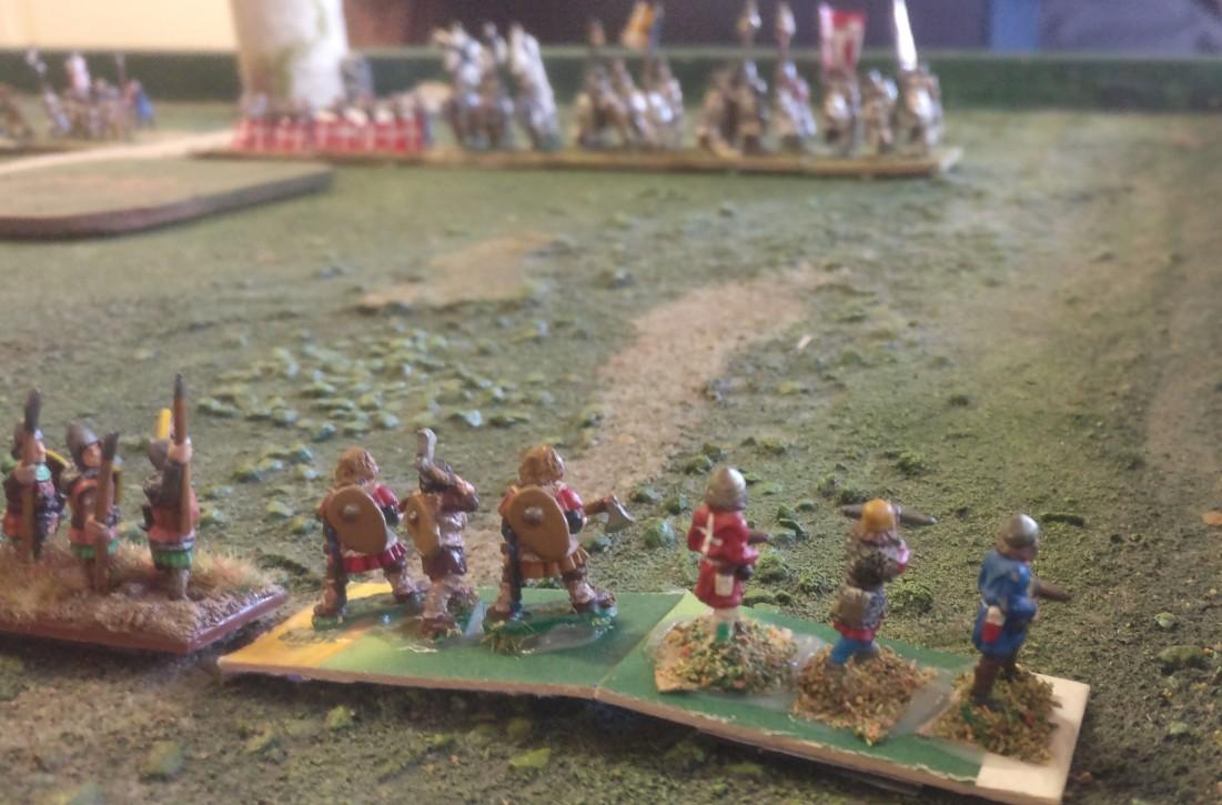 Die schwedischen Fernkämpfer, die später im Spiel noch ganz groß rauskommen sollten.