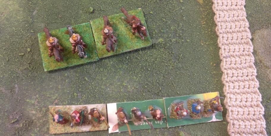 Eine Begegnung im frühen Spiel kündigt sich an. Die Reiter des Deutschen Ordens stehen kurz vor den Schweden. Doch... Der schwedische Fernkämpfer lauert bereits...