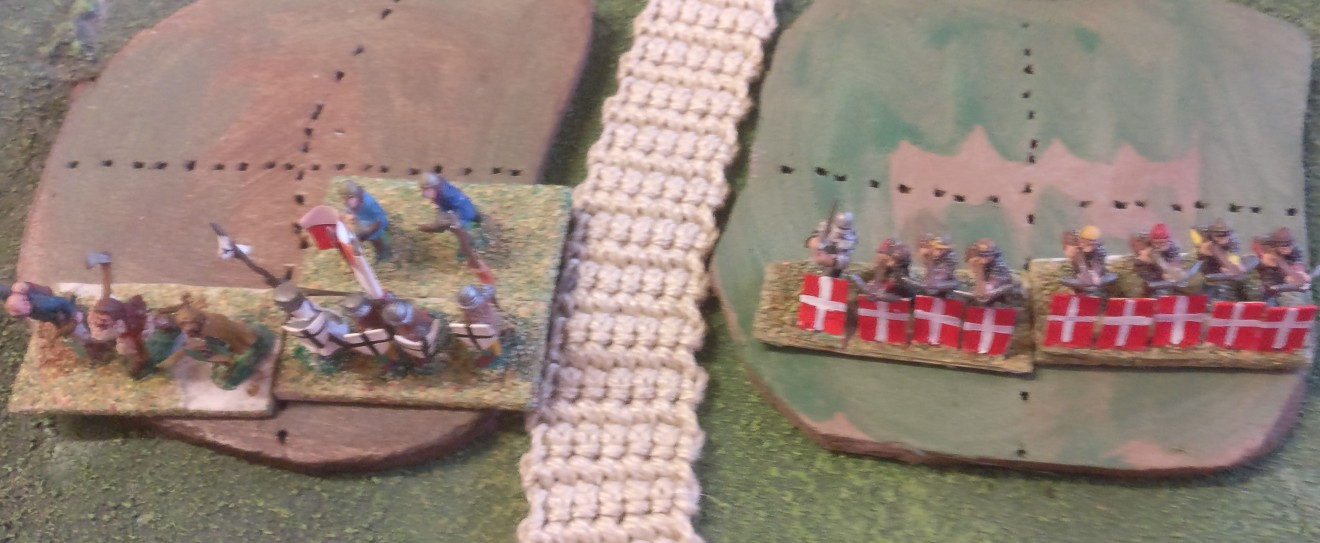 Noch ist es ruhig in den deutschen Stellungen auf dem Hügel.