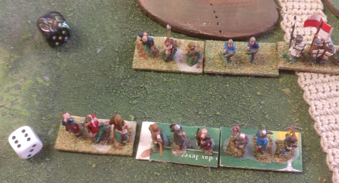Das Metzeln geht weiter. Auch die kleineren Einheiten des Deutschordens werden dezimiert.