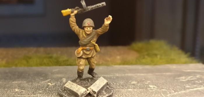 Frische Kräfte für die Offensive der 10. NKWD Division