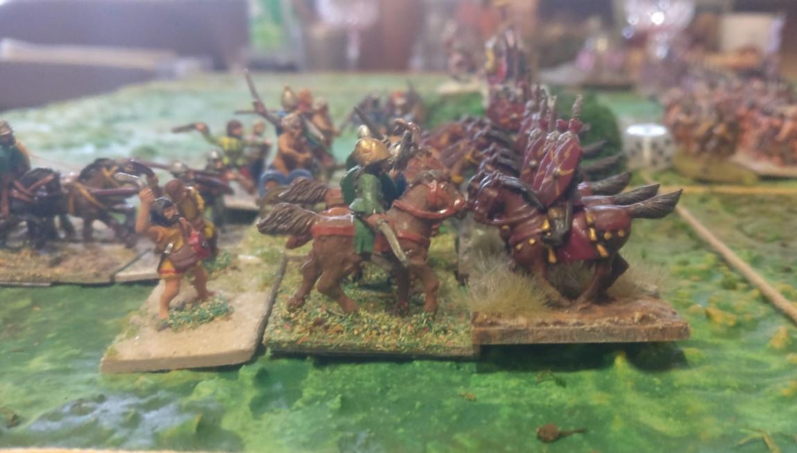 Das letzte bekannte Foto von den römischen Reitern.