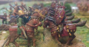 Römer gegen Galater: eine ARMATI-Schlacht des Herrn Gaius - der Battle Report
