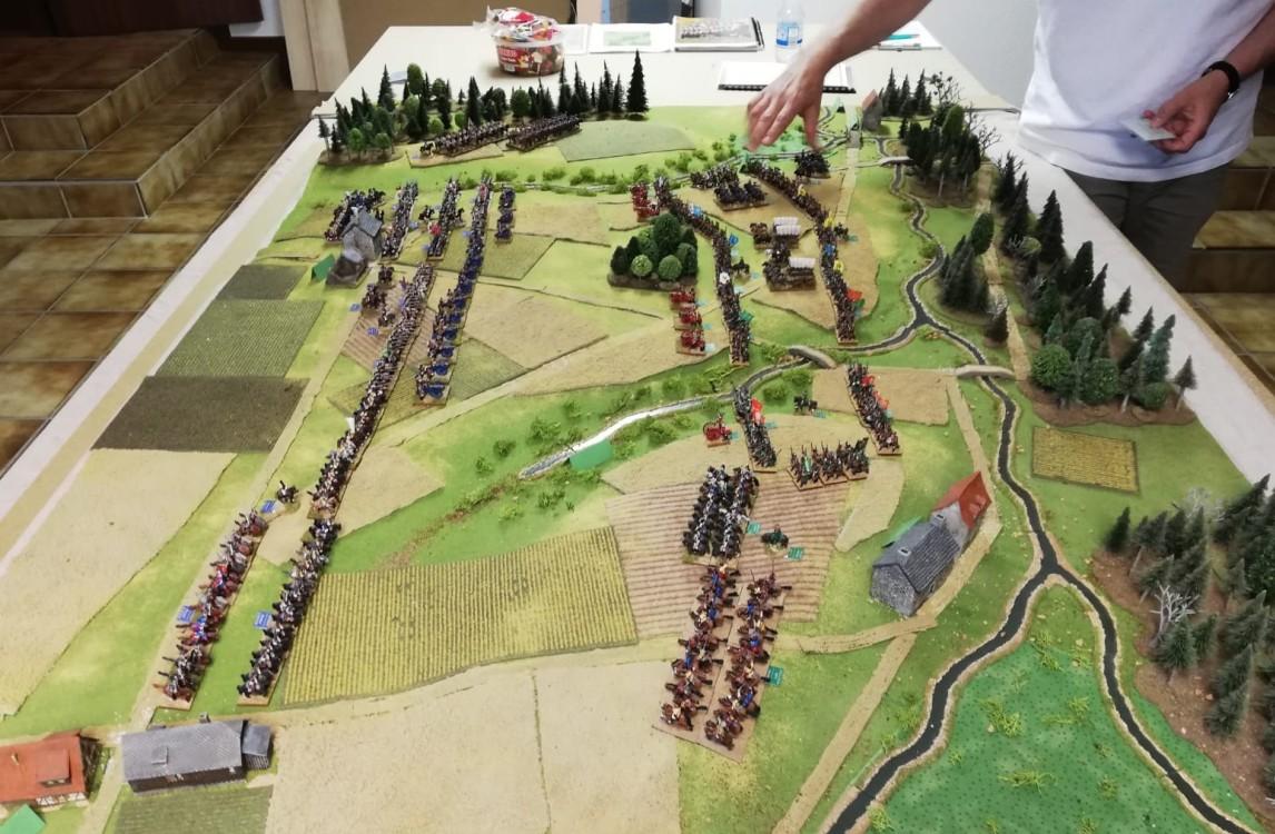 ie Schlacht bei Zirndorf: es stehen sich im Siebenjährigen Krieg gegenüber: die preußische Armee unter König Friedrich II alias Graf Aujeszky und Wilhelm von Fermor alias Franz mit seiner russichen Hauptarmee.