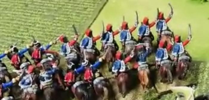 Schlacht bei Zorndorf: Graf Aujeskzy führt die Preussischen Farben zum Sieg