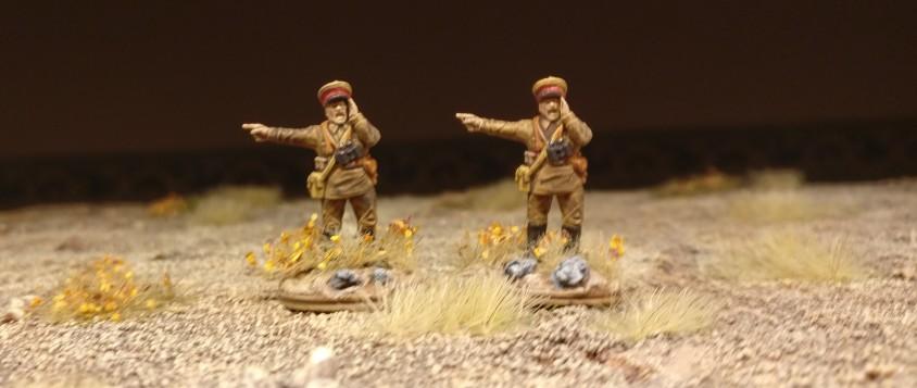 Die bekannten PSC Offiziere schieben in größeren Stückzahlen Dienst in der Roten Sturmi Army.
