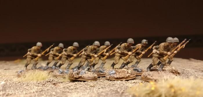 Steppenstürmer für die 30. Schützendivision