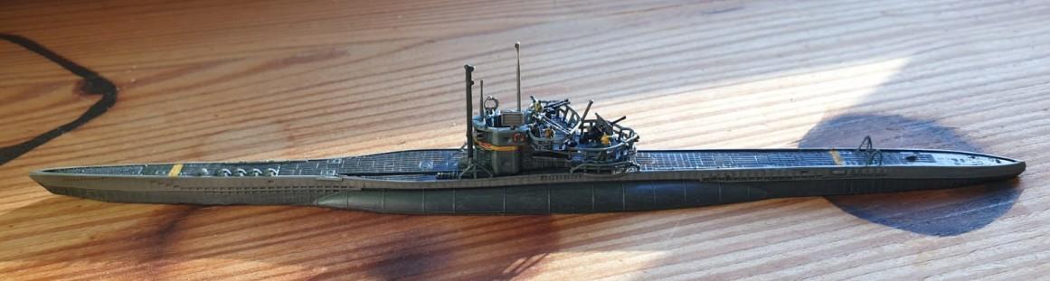 Maxens Neubau-U-Boot von kürzlich...