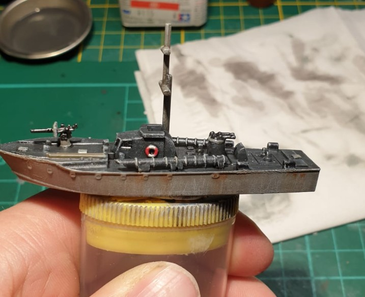 Maxens britisches Schnellboot...
