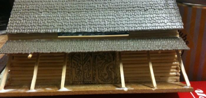Der Monnemer Jarl legt vor: ein Wikinger Langhaus bauen im Maßstab 15mm.