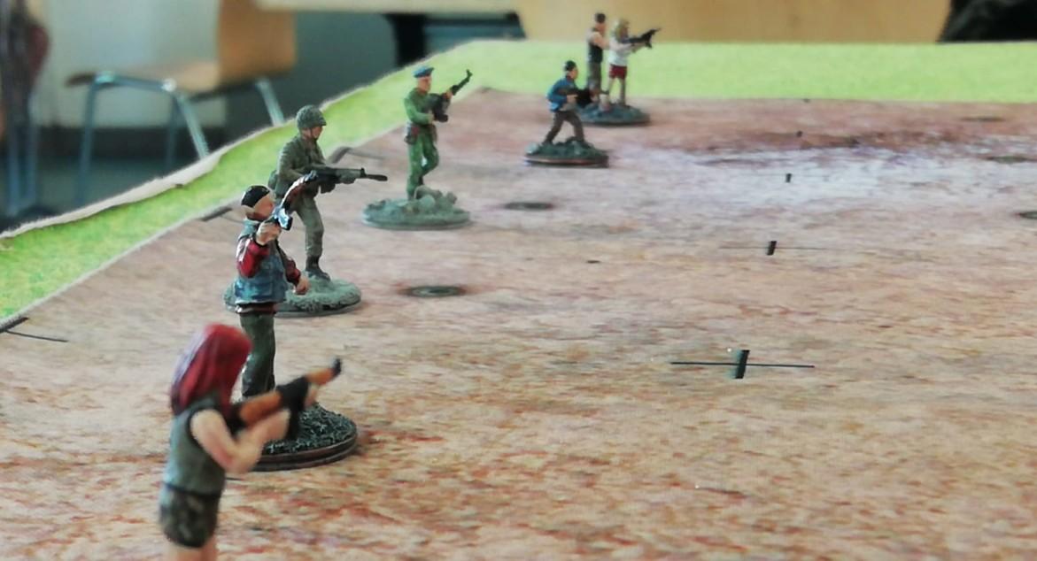 Doncolors Zombies kriechen hier aus den Gräbern.